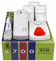 Сигнализация GSM, датчики движения